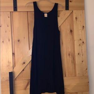 Simple Black T-shirt dress